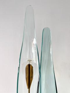 Max Ingrand Pair of Dahlia Sconces by Max Ingrand for Fontana Arte Italy 1950s - 2073910