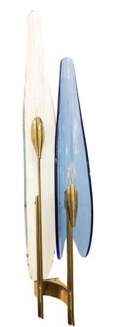 Max Ingrand Pair of Dalia Sconces by Max Ingrand for Fontana Arte - 1092087