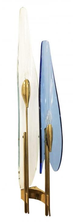 Max Ingrand Pair of Dalia Sconces by Max Ingrand for Fontana Arte - 1092088