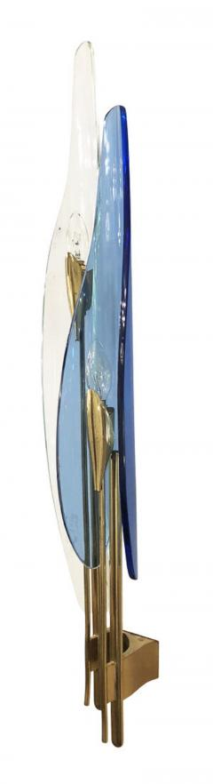 Max Ingrand Pair of Dalia Sconces by Max Ingrand for Fontana Arte - 1092090