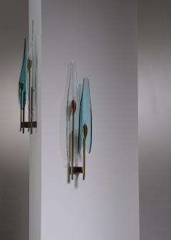 Max Ingrand Pair of Max Ingrand for Fontana Arte wall lamps - 2013190