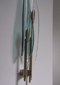 Max Ingrand Pair of Max Ingrand for Fontana Arte wall lamps - 2013194