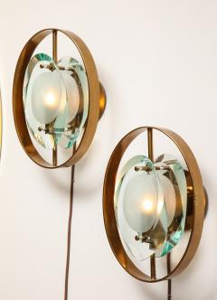 Max Ingrand Pair of Wall Sconces 2240 by Max Ingrand for Fontana Arte - 1618717