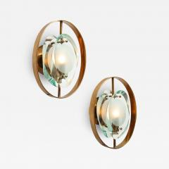 Max Ingrand Pair of Wall Sconces 2240 by Max Ingrand for Fontana Arte - 1688867