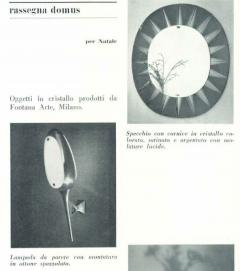 Max Ingrand Rare Circular Mirror by Max Ingrand for Fontana Arte - 1928651