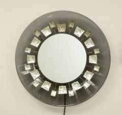 Max Ingrand Rare Illuminated Mirror by Max Ingrand - 1187519