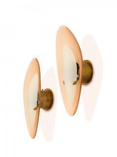 Max Ingrand Rare Pair of Sconces by Fontana Arte - 2101569