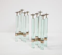 Max Ingrand Rare Pr of Candlesticks 2422 by Max Ingrand for Fontana Arte - 2095978