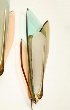 Max Ingrand Rare pair of Sconces by Max Ingrand for Fontana Arte - 1954135