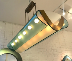 Max Ingrand Rare pair of ceiling lights - 1789501