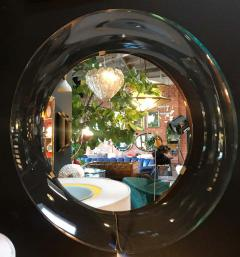 Max Ingrand Round Mirror by Max Ingrand for Fontana Arte Italy 1960s - 1446873