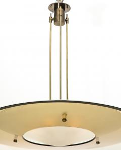Max Ingrand Saucer Chandelier by Max Ingrand for Fontana Arte - 522649