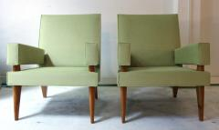 Maxime Old Maxime Old Pair of armchairs 369 model France 1955 1958 - 918362