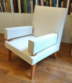 Maxime Old Maxime Old Pair of armchairs 369 model France 1955 1958 - 1489836