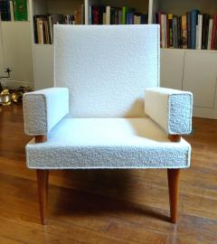 Maxime Old Maxime Old Pair of armchairs 369 model France 1955 1958 - 1489837
