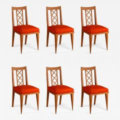 Maxime Old Maxime Old Set of 6 Oak Dining Chairs - 1551165