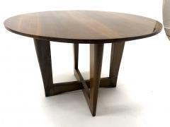 Maxime Old Maxime Old attributed refined walnut round coffee table - 1119590