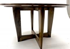 Maxime Old Maxime Old attributed refined walnut round coffee table - 1119602
