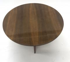 Maxime Old Maxime Old attributed refined walnut round coffee table - 1119607