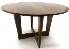 Maxime Old Maxime Old attributed refined walnut round coffee table - 1119609
