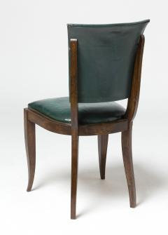 Maxime Old Set of eight chairs in mahogany in the style of Maxime Old - 1258497