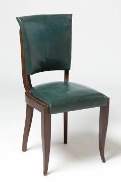 Maxime Old Set of eight chairs in mahogany in the style of Maxime Old - 1258498