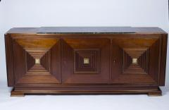 Maxime Old Sideboard with three doors in the style of Maxime Old France 1940 1950 - 1258509