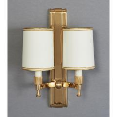 Maxime Old Two Pair of Maxime Old Bronze Sconces France 1940s - 1971003