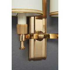 Maxime Old Two Pair of Maxime Old Bronze Sconces France 1940s - 1971014
