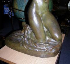 Maxime Real del Sarte 20th C Bronze statue Ivresse by Maxime Real del Sarte - 916071