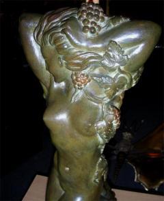 Maxime Real del Sarte 20th C Bronze statue Ivresse by Maxime Real del Sarte - 916072