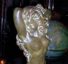 Maxime Real del Sarte 20th C Bronze statue Ivresse by Maxime Real del Sarte - 916073