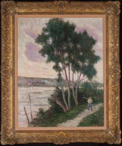 Maximilien Luce Sandrecourt Le Chemin au Bord de la Riviere - 129878