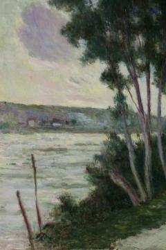 Maximilien Luce Sandrecourt Le Chemin au Bord de la Riviere - 129879