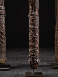 Mbole People DRC Chief Scepters Collection made of Palmtree Leaf Midribs - 1867428
