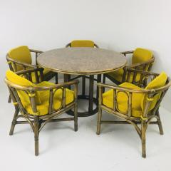 McGuire Dining Set with Five Chairs and Round Table - 538161