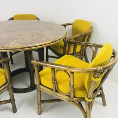 McGuire Dining Set with Five Chairs and Round Table - 538162