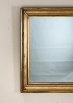Mecca Gilt Wood Mirror 19th Century England - 1586033