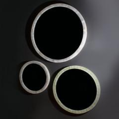 Medium Onyx Mirror with a frame backlit by LED - 1136338