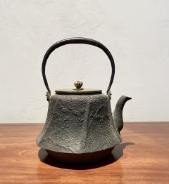 Meiji Era Cast Iron Tetsubin - 1765326