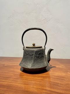 Meiji Era Cast Iron Tetsubin - 1765327