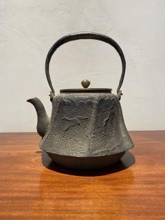 Meiji Era Cast Iron Tetsubin - 1765330