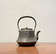 Meiji Era Cast Iron Tetsubin - 1765331