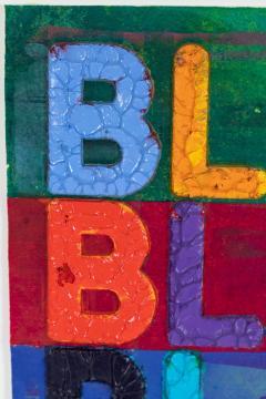 Mel Bochner Original Mel Bochner Artwork - 1398624