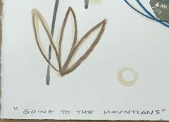 Melanie A Yazzie Going to the Mountains - 1843570