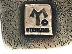 Melanie A Yazzie Grandmother Silver Cuff bracelet designed by Melanie Yazzie Navajo - 877751