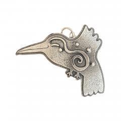 Melanie A Yazzie Hummingbird Pendant - 501927