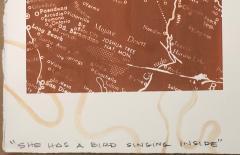 Melanie A Yazzie She Has a Bird Singing Inside - 1843576