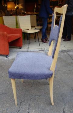 Melchiorre Bega A rare set of six sycamore dining chairs by Melchiorre Bega Italy 1970 - 918450