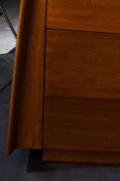 Melchiorre Bega Italian Modern Walnut 6 drawer Dresser Melchiorre Bega - 1392940
